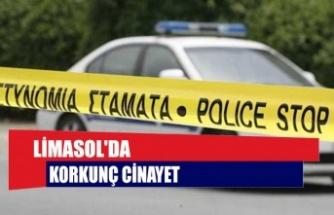 Limasol'da korkunç cinayet