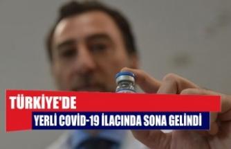 Türkiye'de Yerli Covid-19 ilacında sona gelindi