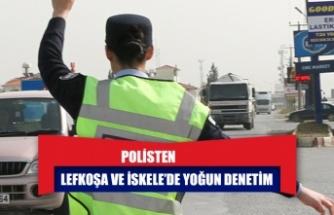 294 kişiye yasal işlem, 3 araca trafikten men
