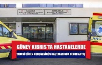 Güney Kıbrıs'ta hastanelerde tedavi gören koronavirüs hastalarında rekor artış