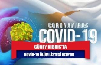 GÜNEY KIBRIS'TA KOVİD-19 ÖLÜM LİSTESİ UZUYOR