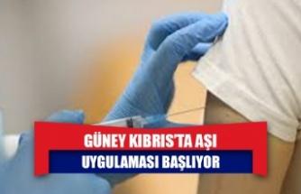 Güney Kıbrıs'ta Aşı Uygulaması Başlıyor