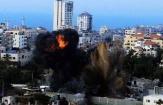 Gazze saldırılarında 41'i çocuk, 23'ü kadın 145 Filistinli hayatını kaybetti