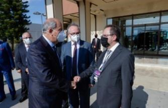 Cumhurbaşkanı Tatar,  Antalya'ya vardı