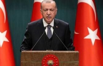Cumhurbaşkanı Erdoğan duyurdu: Yeni bir döneme giriyoruz