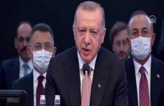 Erdoğan: Türkiye'nin tam üye olarak yer almadığı bir AB'nin çekim ve güç merkezi olması mümkün değildir