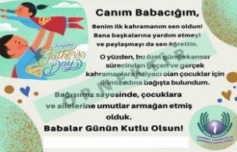 """Kemal Saraçoğlu Vakfı'ndan """"Süper Babalar"""" İçin Umut Kartı"""