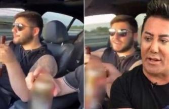 Burakcan Övüç'ten bir skandal daha! Arabada alkol aldı, sosyal medyadan paylaştı