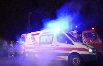 Girne'de 77 yaşındaki adama araba çarptı