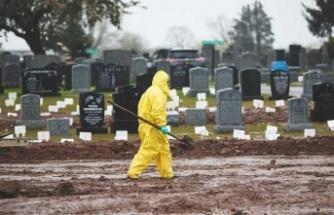 ABD'de Kovid-19 nedeniyle 2 bin 590 kişi hayatını kaybetti
