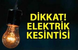Alsancak bölgesinde yarın 5 saatlik elektrik kesintisi…