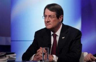 """Anastasiadis, Kıbrıs'ta iki devletli çözüme """"açık olmadıklarını"""" söyledi"""