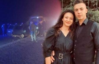 Biri 19, diğeri 21 yaşında nişanlı çift, trafik kazasında hayatını kaybetti