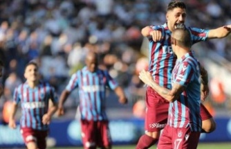 Süper Lig'in 5. haftasında Trabzonspor, deplasmanda Kasımpaşa'yı 1-0 yendi