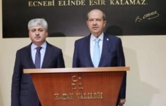 """Cumhurbaşkanı Tatar, """"Kıbrıslı yoktur. Türk yada Rum vardır"""""""