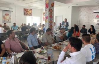 Dr.Faiz Sucuoğlu, Akdoğan'da partililerle bir araya geldi