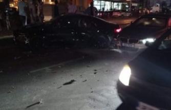 Lefkoşa'da bir kaza daha!