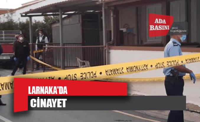 Larnaka'da cinayet!