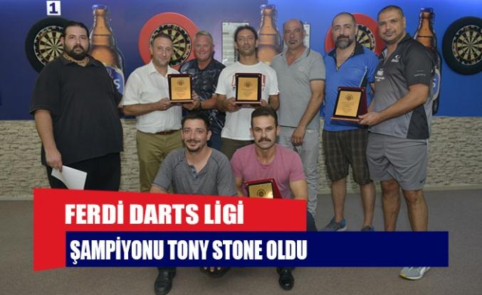 FERDİ DARTS LİGİ ŞAMPİYONU TONY STONE OLDU