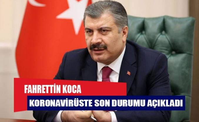 Türkiye'de son 24 saatte 19 can kaybı, bin 412 vaka