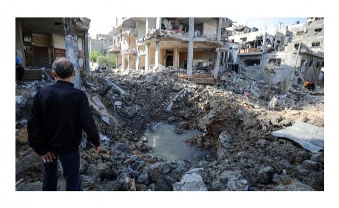 Gazze'de 10 bin ev susuz kaldı