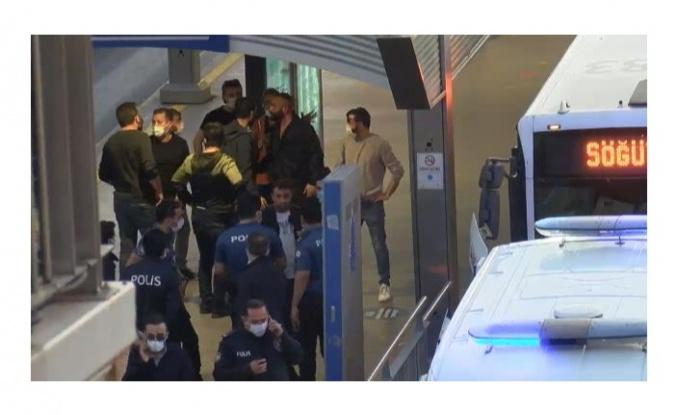 İstanbul'da metrobüsü rehin alan şahıs gözaltına alındı