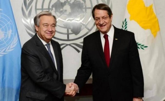 Anastasiadis 25 Haziran'da Brüksel'de BM Genel Sekreteri ile görüşecek