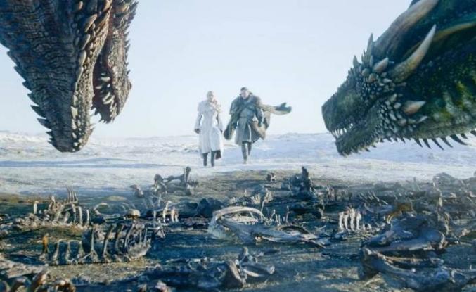 Yeni Game of Thrones dizisinde 17 ejderha yer alacak