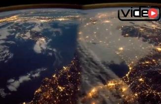 Nasa'nın, dünyayı uzaydan görüntülediği anlar!